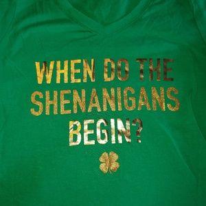 St Patrick's day tshirt